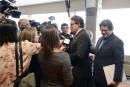 Le caucus péquiste panse les blessures dans Chicoutimi