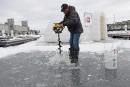 De la pêche sur glace au bassin Louise