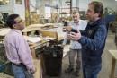 Un propriétaire d'usine accueille des réfugiés syriens