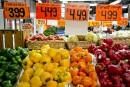 Les fruits et légumes font gonfler l'inflation