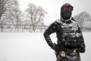 Ensevelie sous la neige, Washington est une ville fantôme