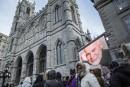 François Bonnardel aux funérailles de René Angélil :«C'était empreint de dignité»