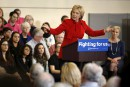 Hillary Clinton appelle les électeurs à finir leur «magazinage»