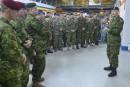 Valcartier: le plus grand déploiement militaire depuis l'Afghanistan