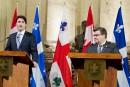 Oléoducs: Trudeau veut l'aval des villes avant de donner un feu vert