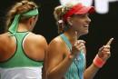 Kerber atteint les demi-finales à Melbourne