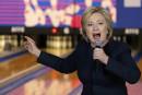 Hillary Clinton dans une salle de quilles, Bernie Sanders à la Maison-Blanche