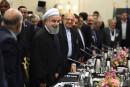 Rohani poursuit à Paris un rapprochement avec l'Europe