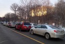 Les taxis perturbent l'entrée au travail à Revenu Québec