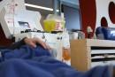 Héma-Québec ouvre son salon de dons de plasma