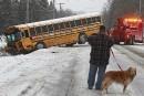 Collision avec un autobus de jeunes hockeyeurs:la conductrice est décédée