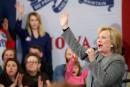 Devine qui s'enthousiasme pour Hillary Clinton