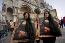 Lancement du carnaval de Venise avec le «saut de l'ange» à Saint-Marc