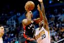 Les Raptors rebondissent en battant les Suns