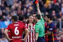 Filipe Luis suspendu trois matchs pour son geste contre Messi