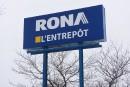 Vente de Rona: onde de choc à Québec