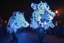 Le défilé de nuit sous le thème de la nordicité