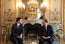 Trois Bordeaux pour Trudeau à Paris