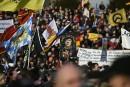 Des milliers de personnes manifestent en Europe à l'appel de Pegida