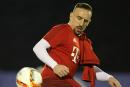 Franck Ribéry de retour à l'entraînement