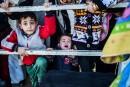 30000 réfugiés syriens coincés à la frontière turque