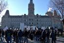 Nouvelle manifestation des taxis de Québec
