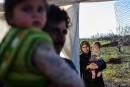 Les déplacés toujours bloqués en Syrie