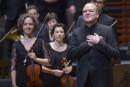 Le retour de Bernard Labadie en concert avec les Violons du Roy
