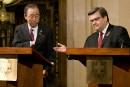 Réfugiés syriens: une responsabilité partagée, dit Ban Ki-moon