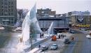 Audace et modernisme pour le palais de glace du Carnaval1962. Installée à la place D'Youville, où on trouve de nos jours la patinoire, l'oeuvre avait été conçue par l'architecte AndréRobitaille. L'allure «futuriste» du palais aurait été inspirée par une photo d'iceberg «prise en1908 par le capitaine Joseph-ElzéarBernier au cours d'une de ses expéditions dans le Grand Nord», peut-on lire dans le site Web du Carnaval de Québec. <strong>ValérieGaudreau</strong>