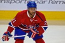 Devante Smith-Pelly n'est pas content...