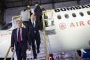 Bombardier: «merci de donner un nouvel élan à la C Series»