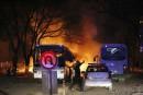 Un convoi militaire attaqué à Ankara