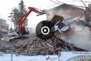 La maison Tourigny croule sous le pic des démolisseurs