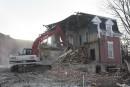 La maison Tourigny disparaît du paysage