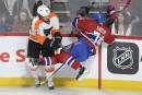 Flyers 2 - Canadien 3 (marque finale)