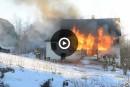 Incendie à Brompton: «La cause va demeurer indéterminée»