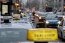 Tir groupé contre le système de permisde taxi