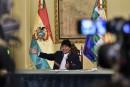 Morales admet avoir «perdu la bataille» pour sa réélection