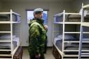 Réfugiés: les bases militaires ne seront finalement pas utilisées