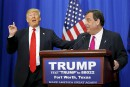 Chris Christie soutient Donald Trump
