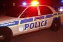 Deux policiers menacés à l'aide d'une arme prohibée