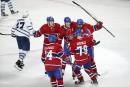 Victoire facile du Canadien face aux Leafs