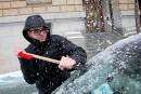 Dame nature ne fait pas relâche: verglas et tempête hivernale
