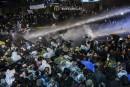 Quotidien turc placé sous tutelle: les manifestants dispersés