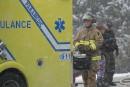 Une femme enceinte impliquée dans une collision