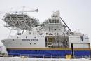 Davie offre trois navires à Ottawa