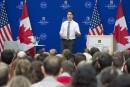 Justin Trudeau répond aux questions d'étudiants américains