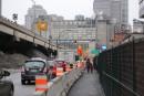 L'accès au centre-ville de Montréal chamboulé