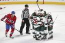 Wild 4 - Canadien 1(score final)